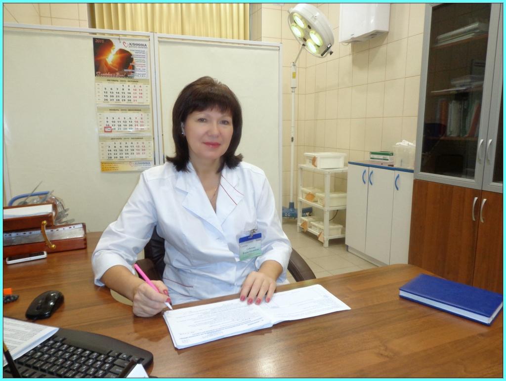 Соболева Е.Т. врач-гинеколог, высшая квалификационная категория